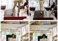 盛岡市主催の古着ファッションショー「もりおかフルコレ2014」 ドンドンダウンも出場!!